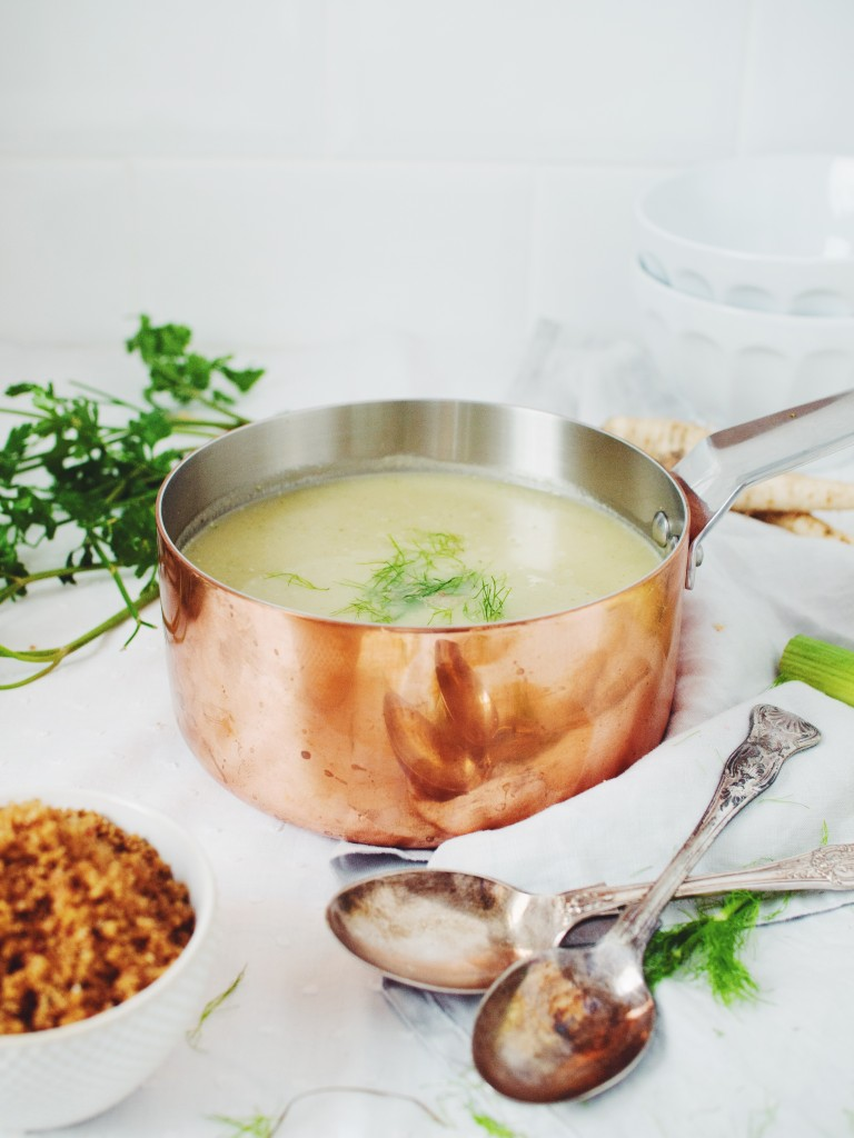 fennel parsley soup