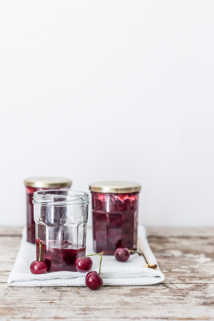 sourcherry jam