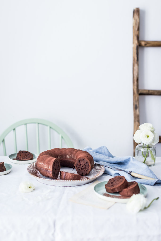 zucchini chocolate bundt cake