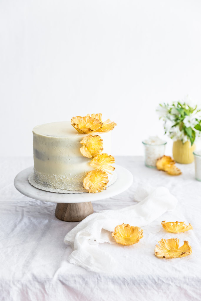 pineapple - coconut cake