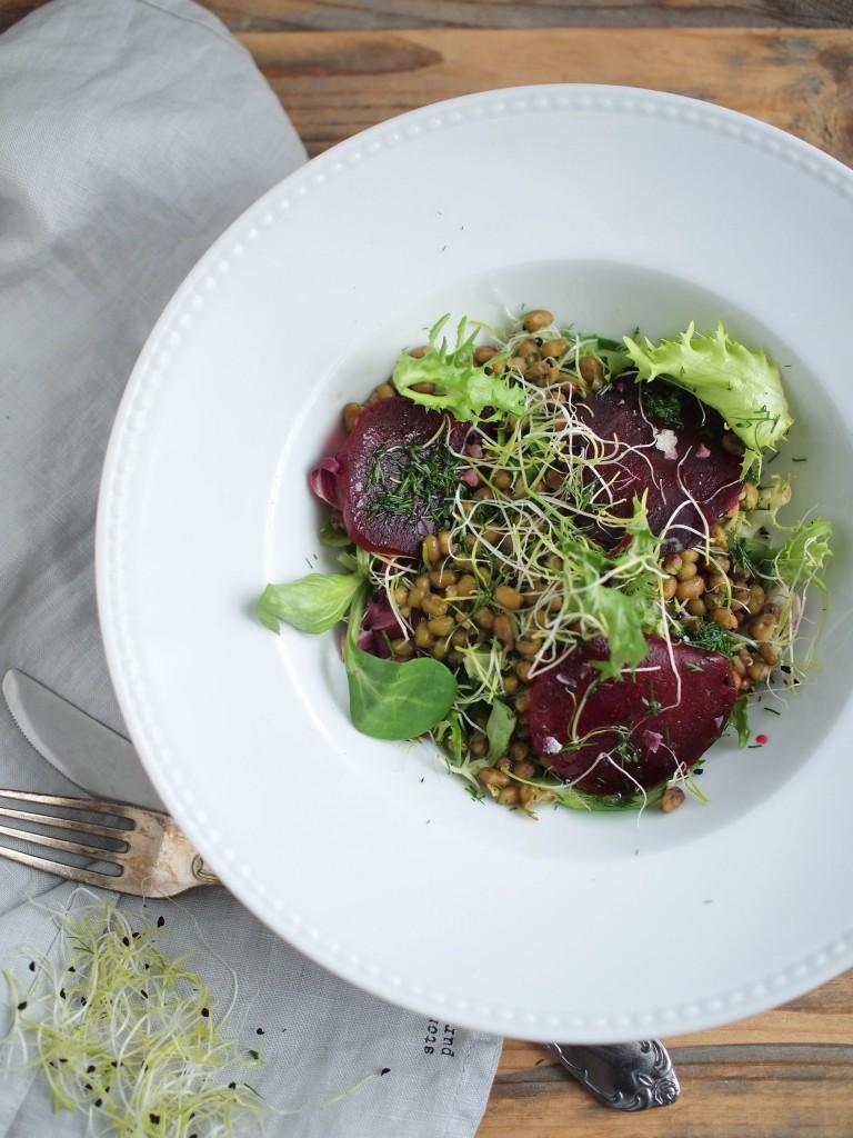 Mungo salad