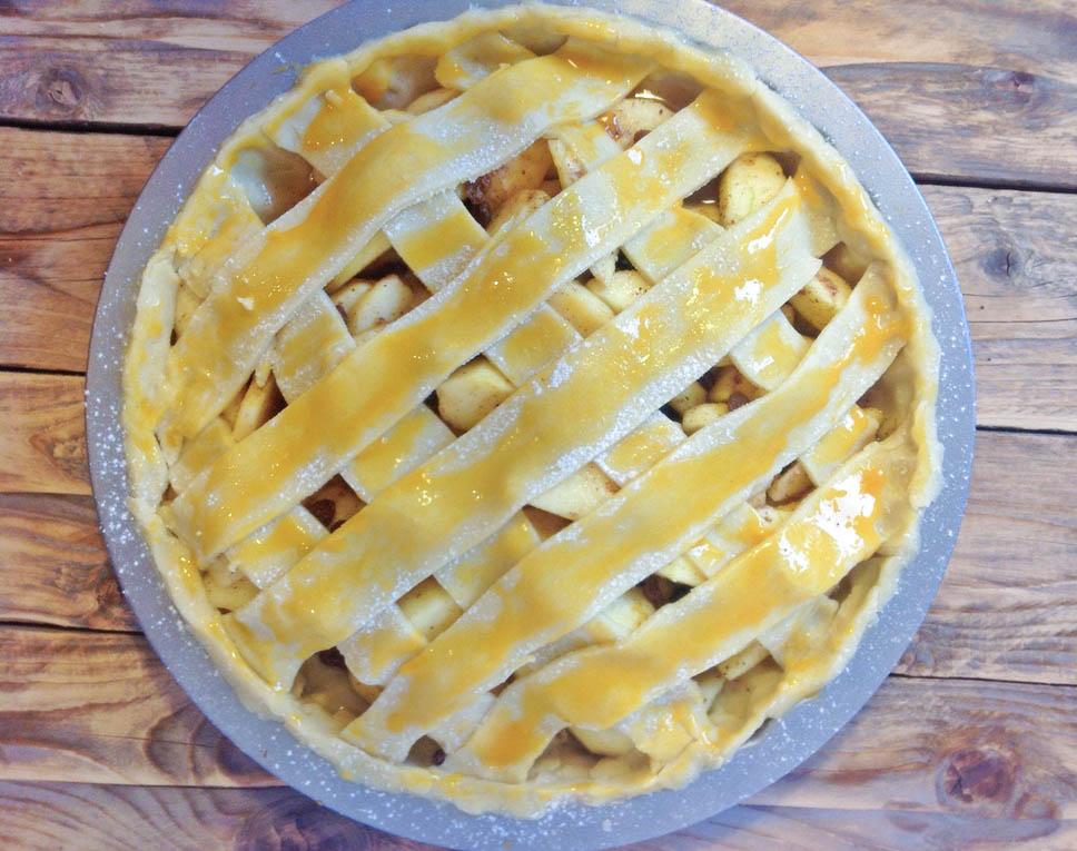 Jablkový koláč a.k.a pravý americký apple pie