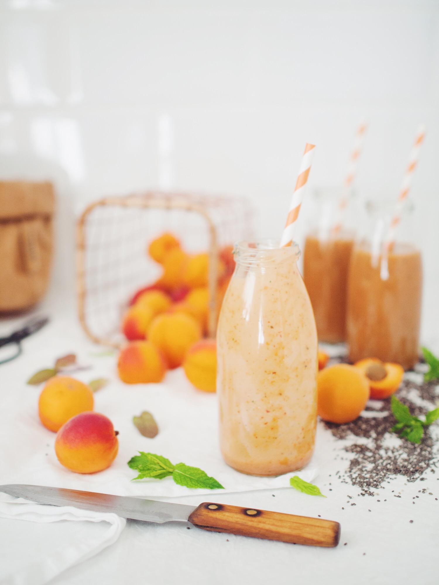 Marhuľové smoothie s chia