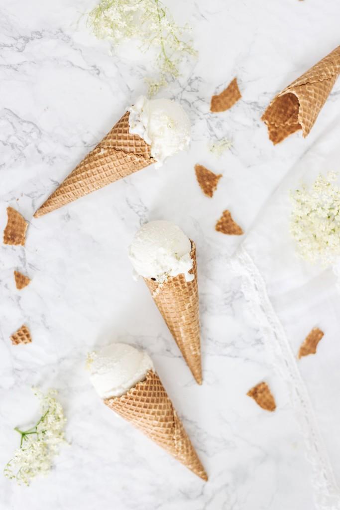elderflower icecream