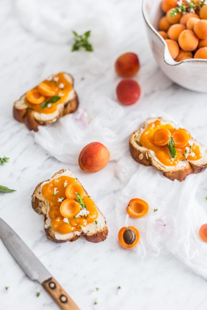 apricot basil jam