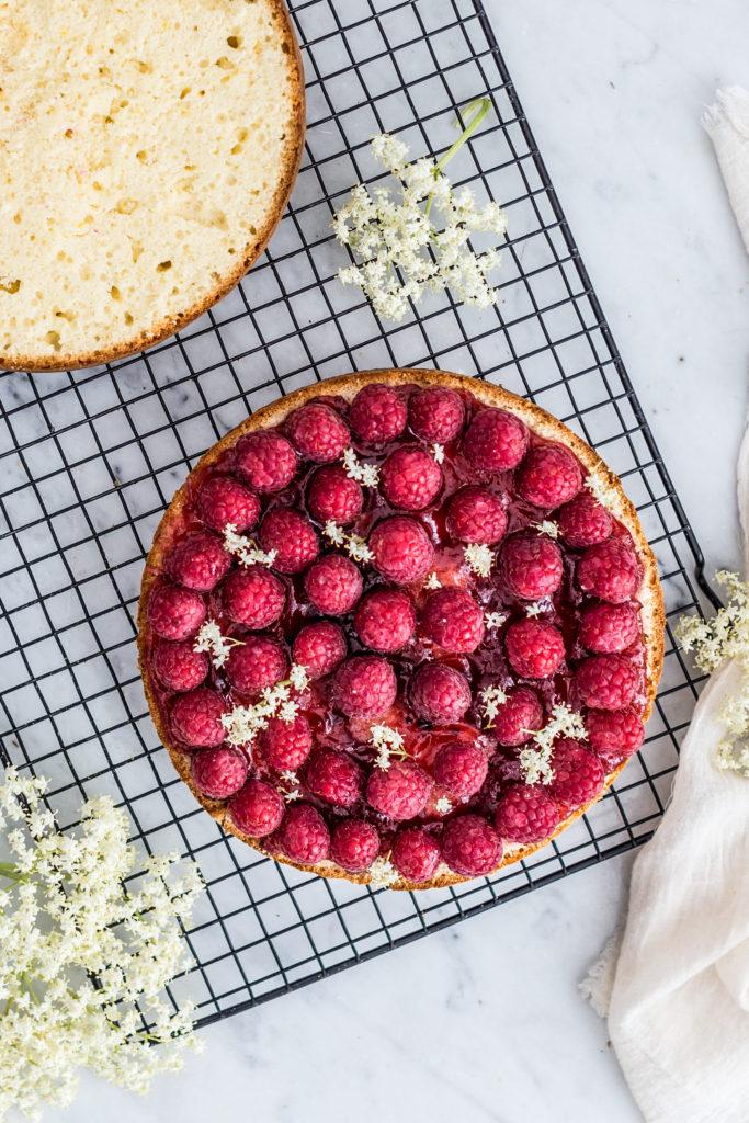 lenom raspberry cake