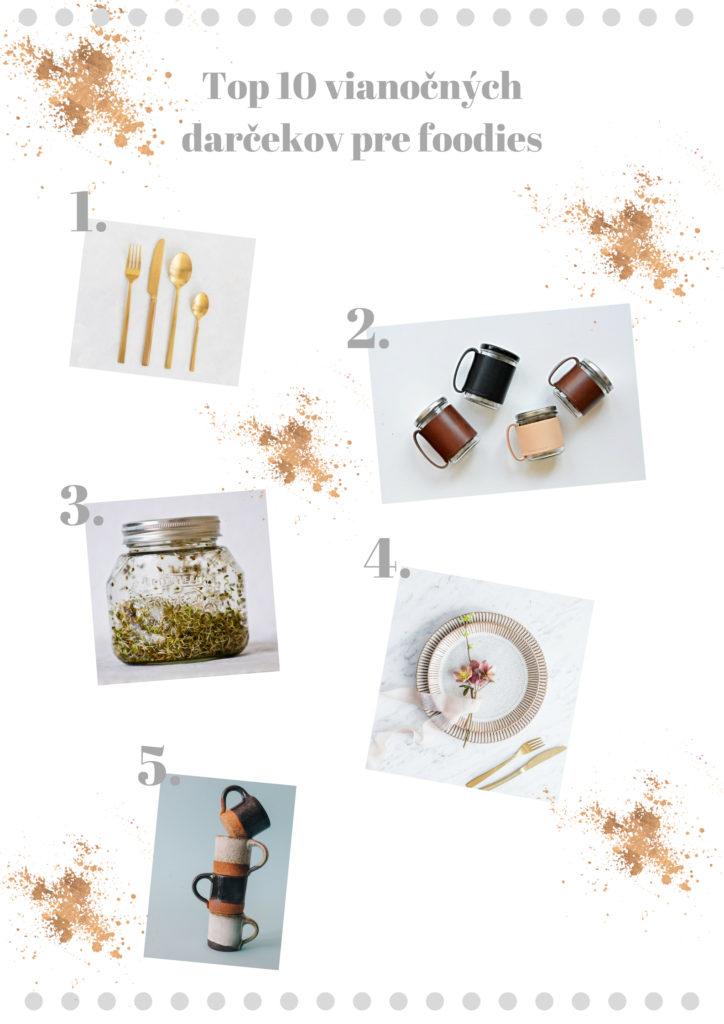 top 10 darčekov pre foodies