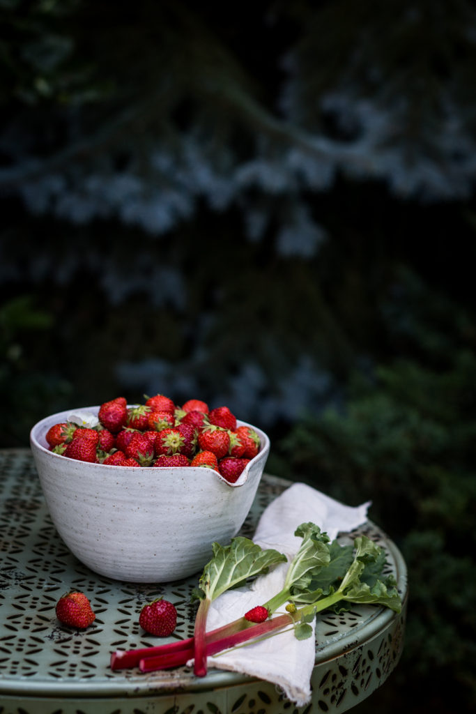 strawberry - rhubarb jam